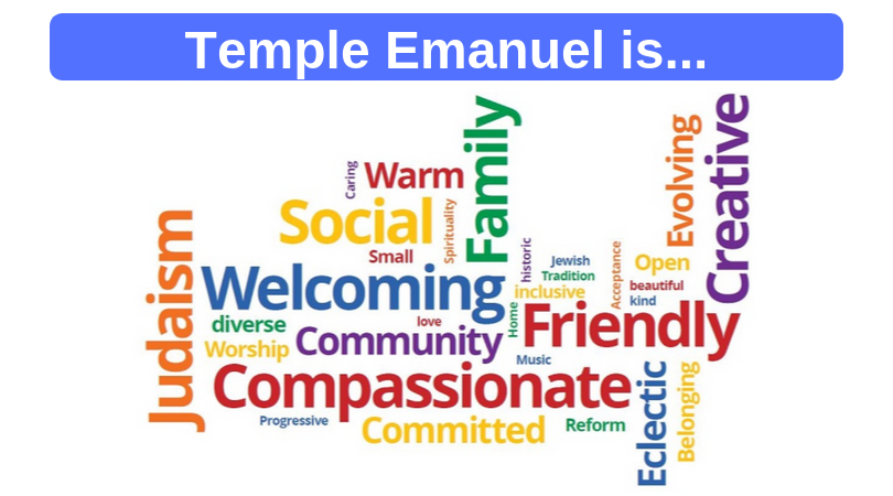 Temple Emanuel is...